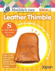Leather Thimble MEDIUM