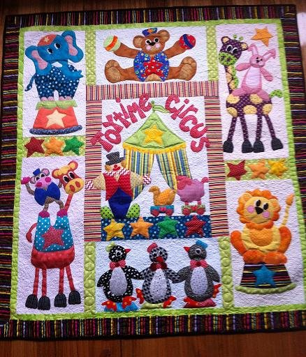 Toytime Circus with fabric