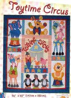 Toytime Circus pattern set