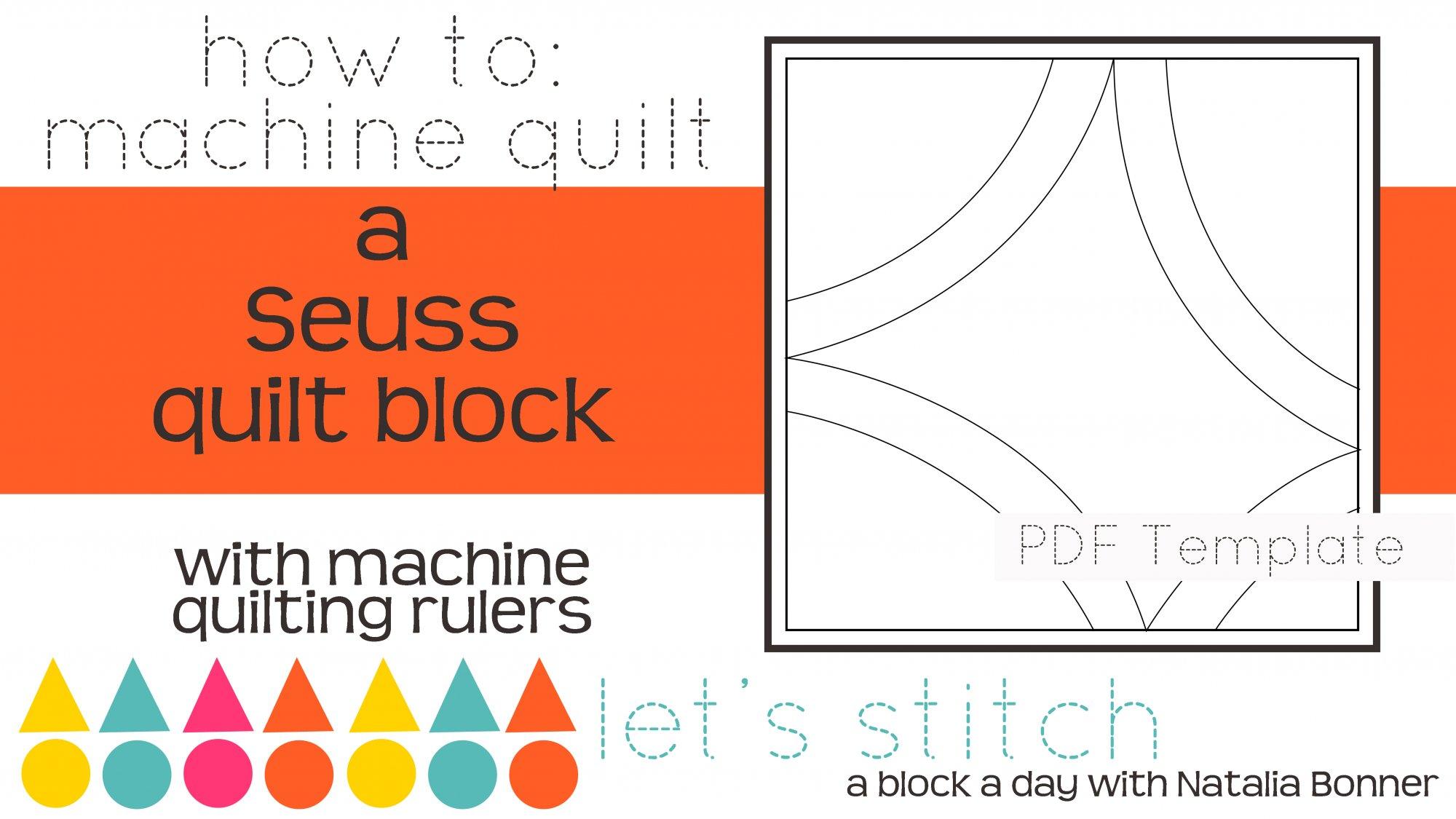 Let's Stitch - A Block a Day With Natalia Bonner - PDF - Seuss