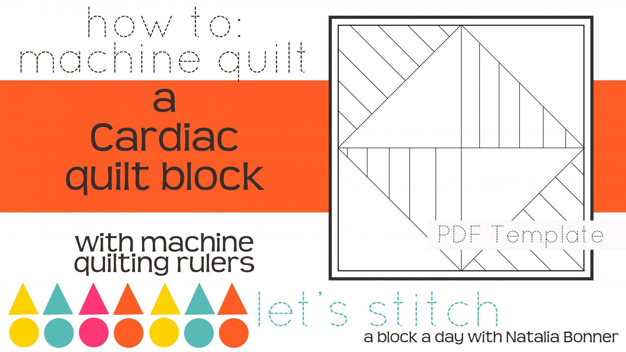 Let's Stitch - A Block a Day With Natalia Bonner - PDF - Cardiac
