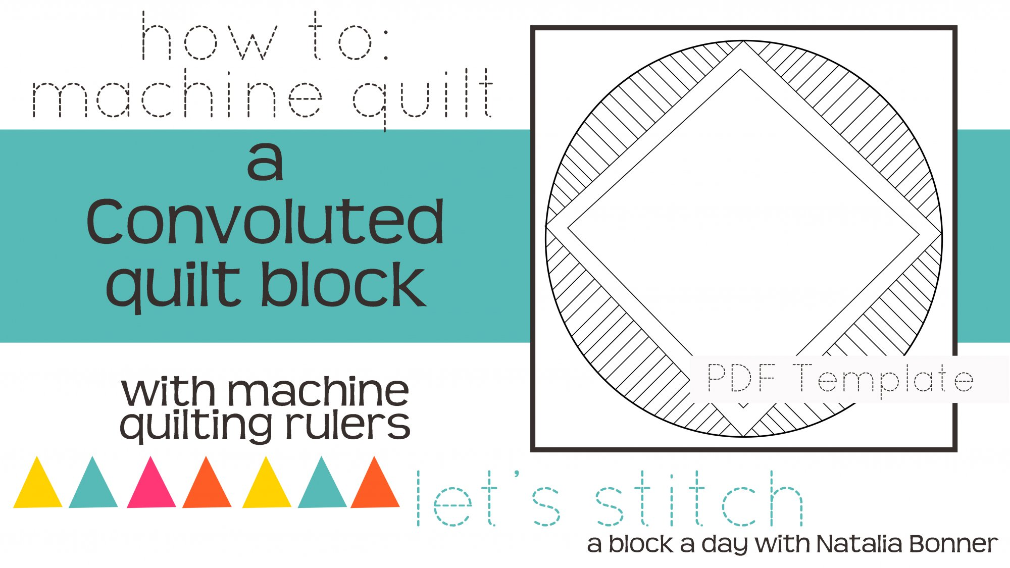Let's Stitch - A Block a Day With Natalia Bonner - PDF - Convoluted