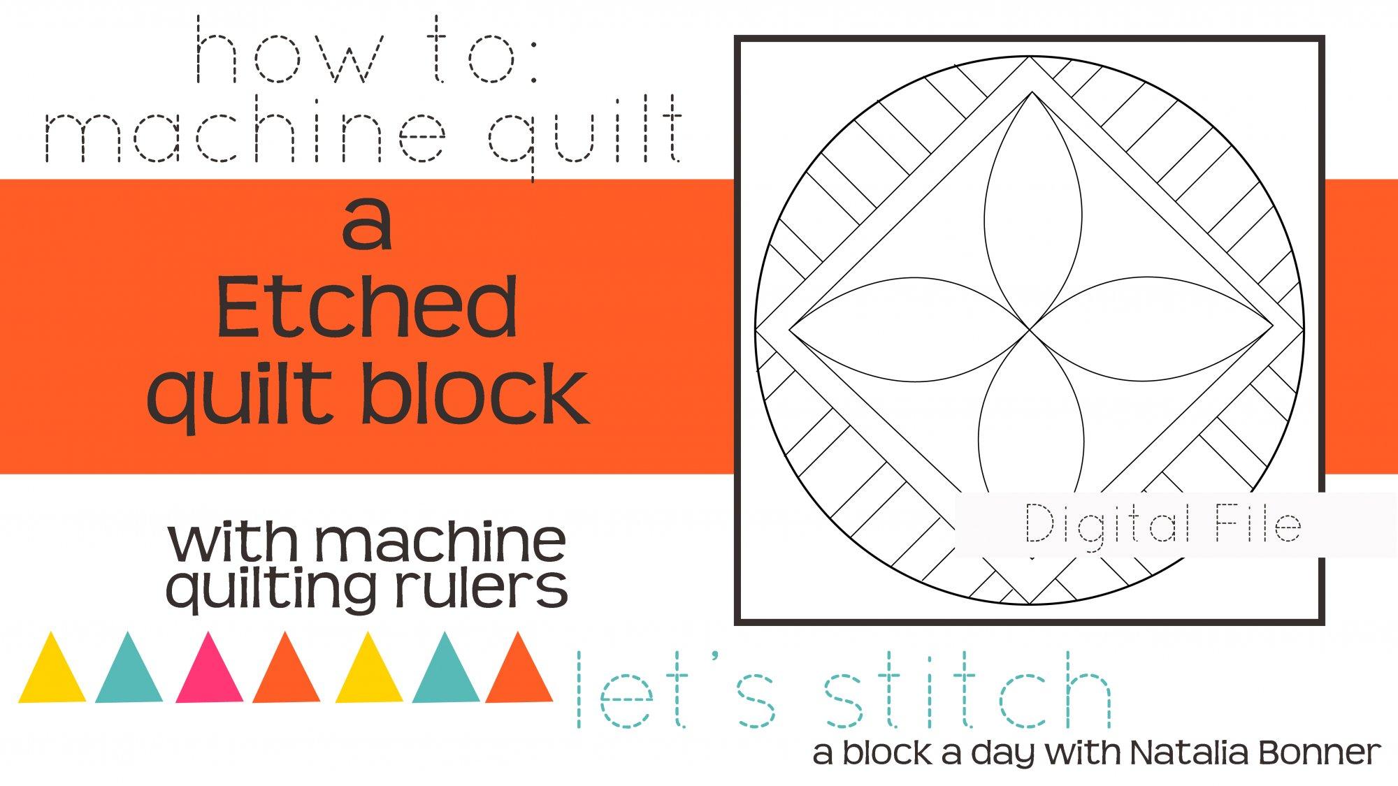 Etched 6 Block - Digital