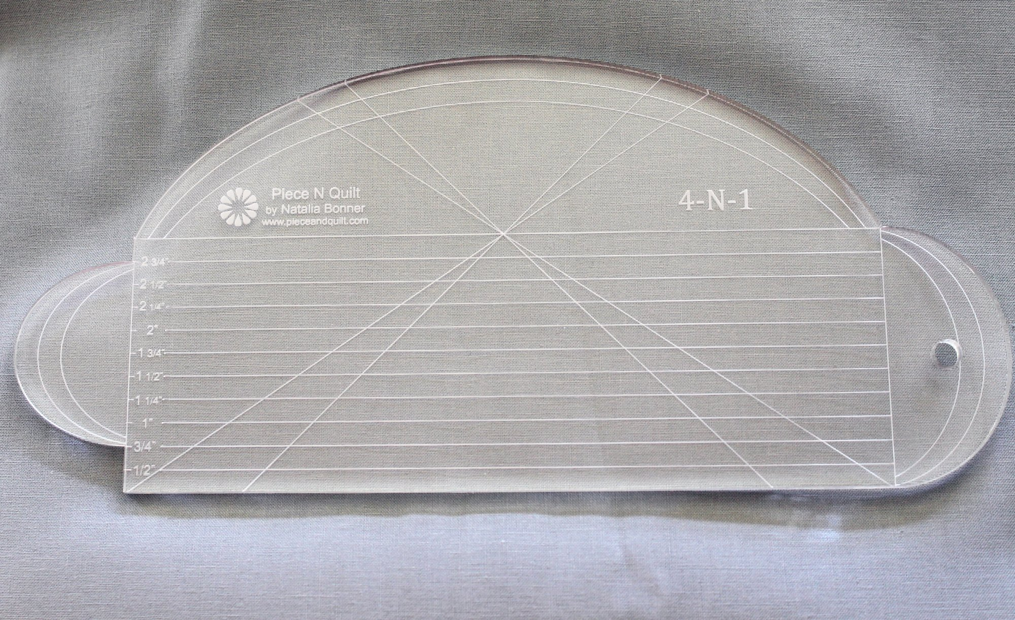 4-N-1 Machine Quilting Ruler