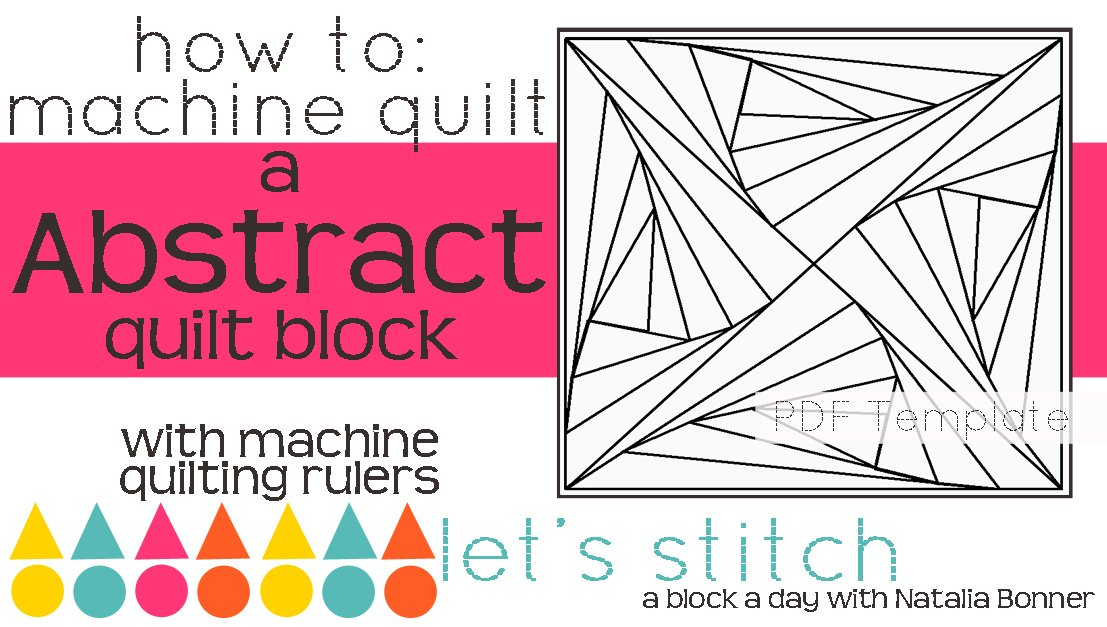 Let's Stitch - A Block a Day With Natalia Bonner - PDF - Abstract