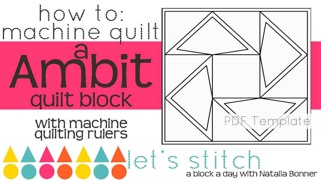 Let's Stitch - A Block a Day With Natalia Bonner - PDF - Ambit