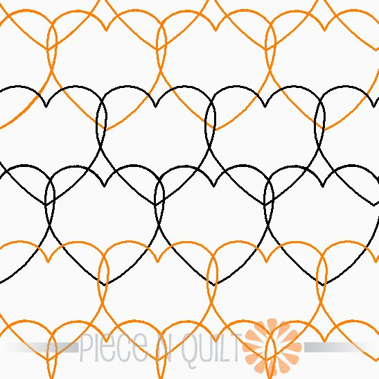Amor Pantograph Pattern - Digital