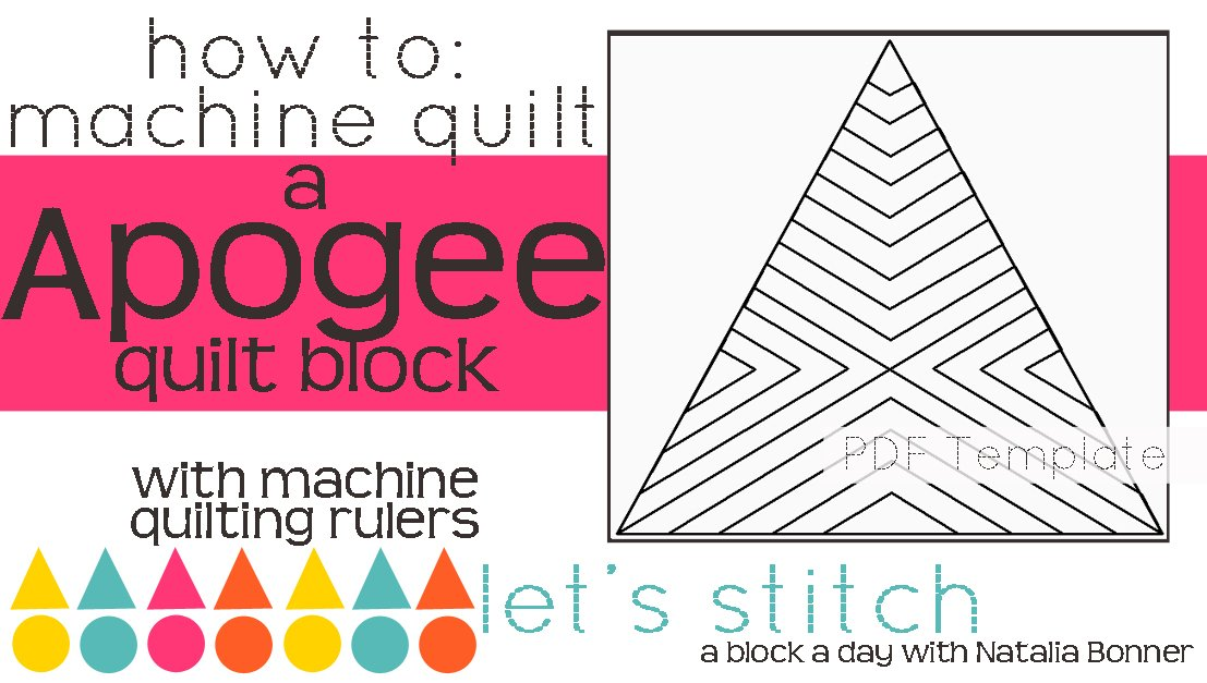 Let's Stitch - A Block a Day With Natalia Bonner - PDF - Apogee