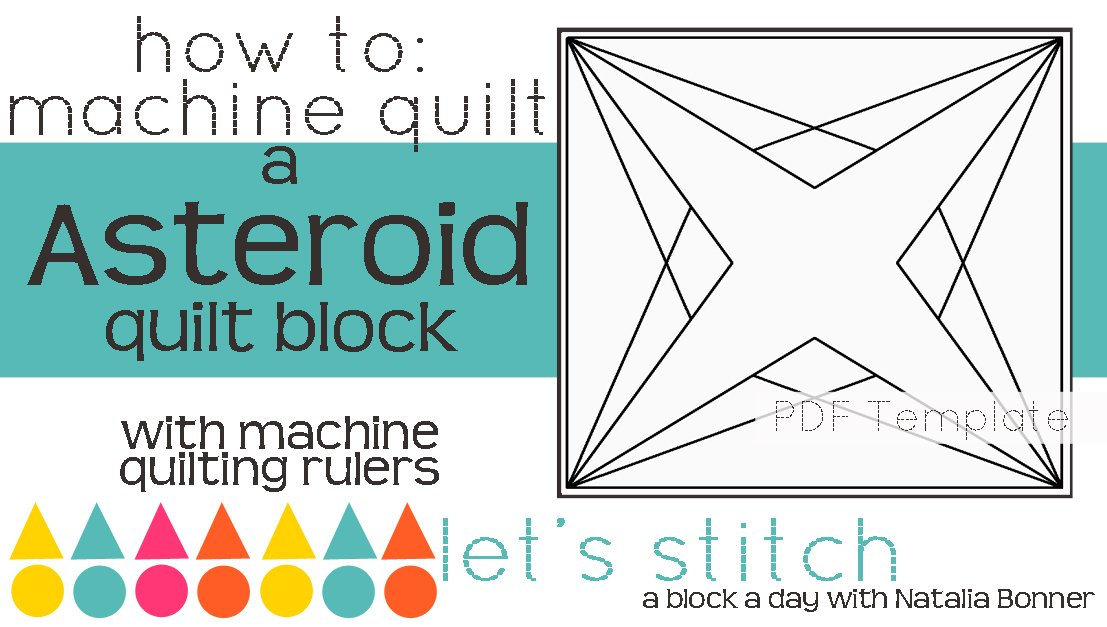 Let's Stitch - A Block a Day With Natalia Bonner - PDF - Asteroid