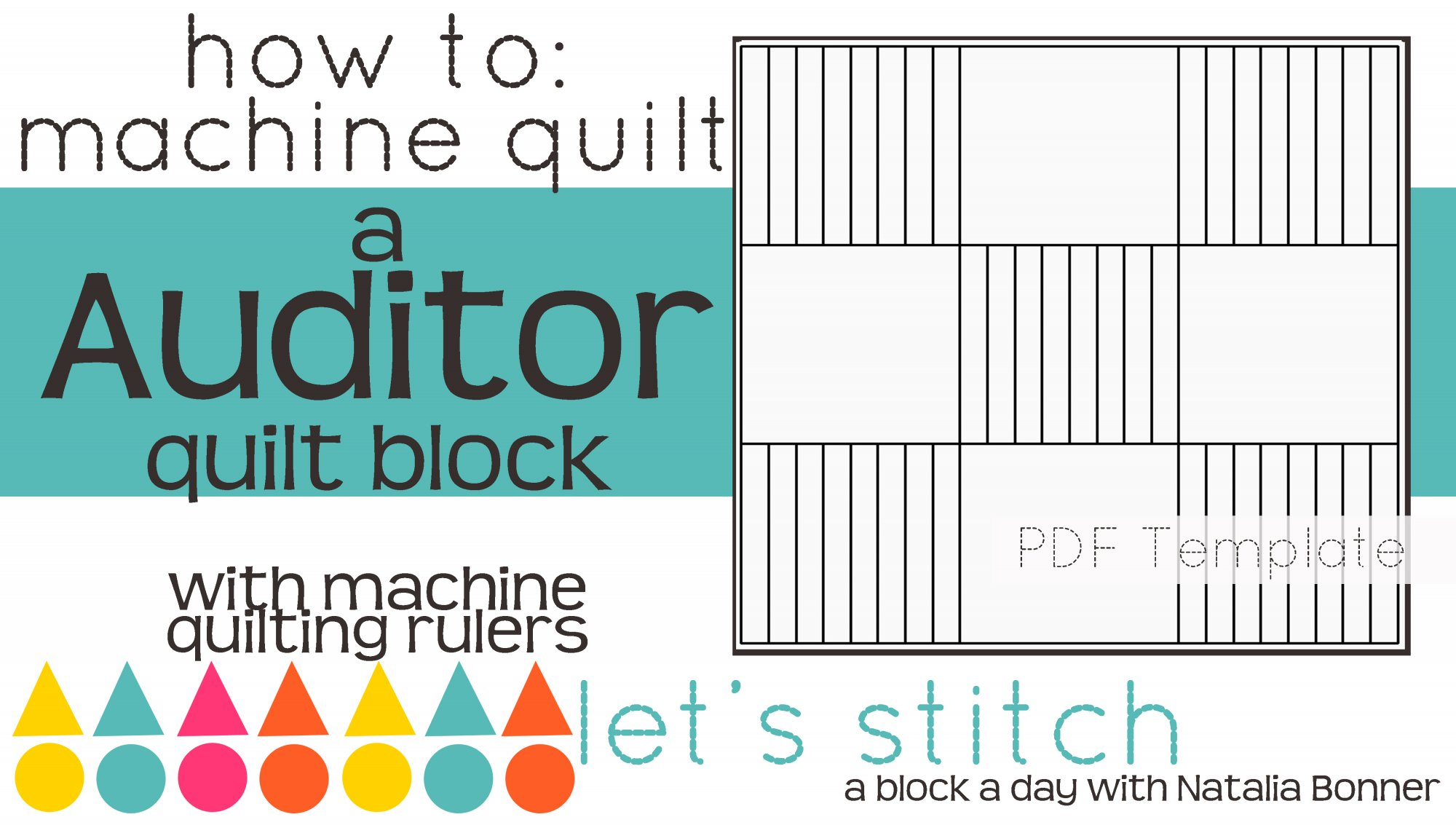 Let's Stitch - A Block a Day With Natalia Bonner - PDF - Auditor