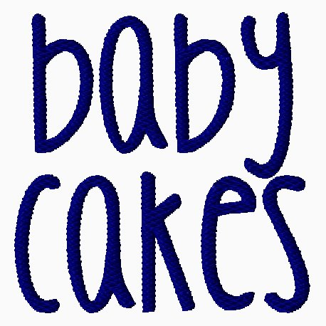 Baby Cakes Embroidery