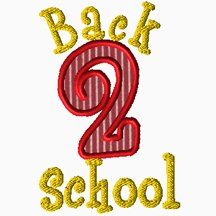 Back 2 School Applique