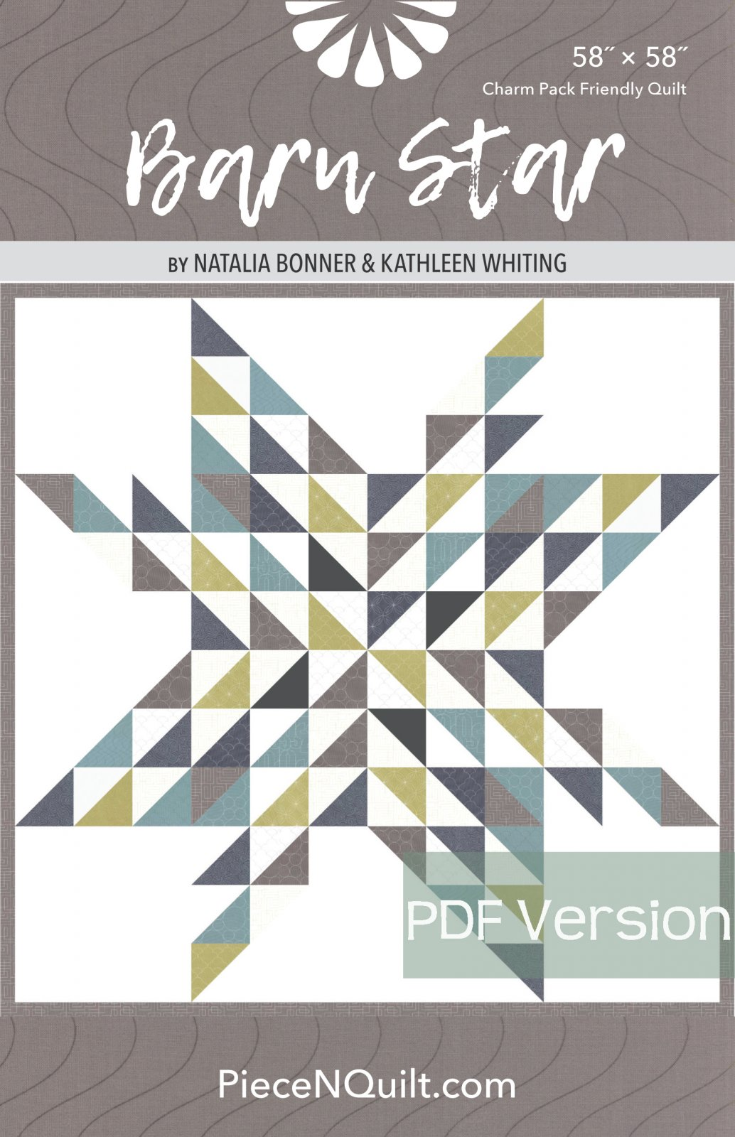Barn Star Quilt Pattern - PDF Version