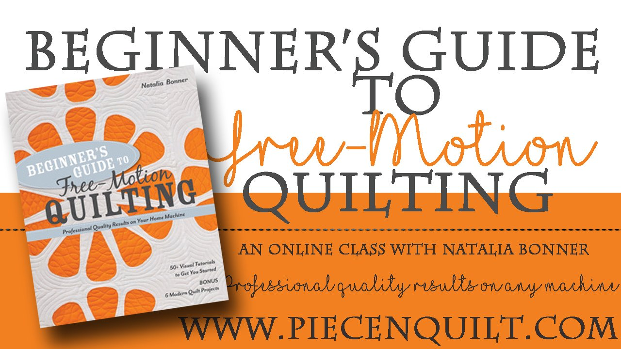 Beginner's Guide to Free-Motion Quilting - Online Class