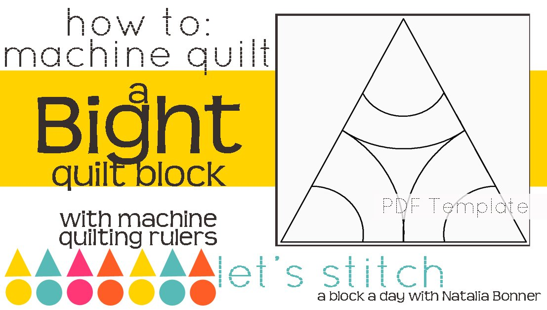 Let's Stitch - A Block a Day With Natalia Bonner - PDF - Bight