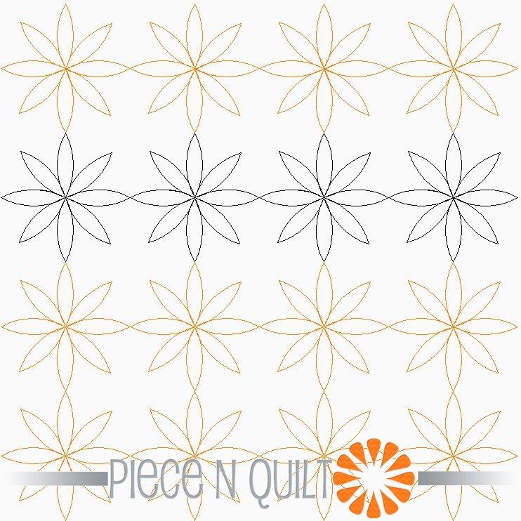 Blossom Pantograph Pattern - Digital