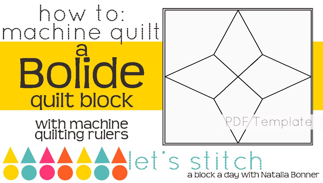 Let's Stitch - A Block a Day With Natalia Bonner - PDF - Bolide