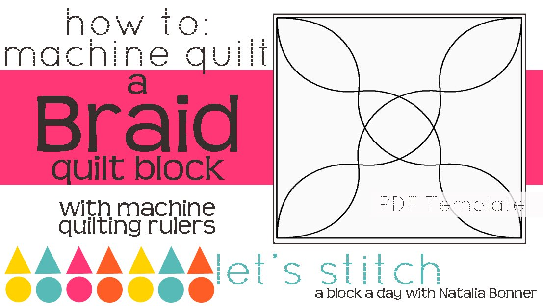 Let's Stitch - A Block a Day With Natalia Bonner - PDF - Braid