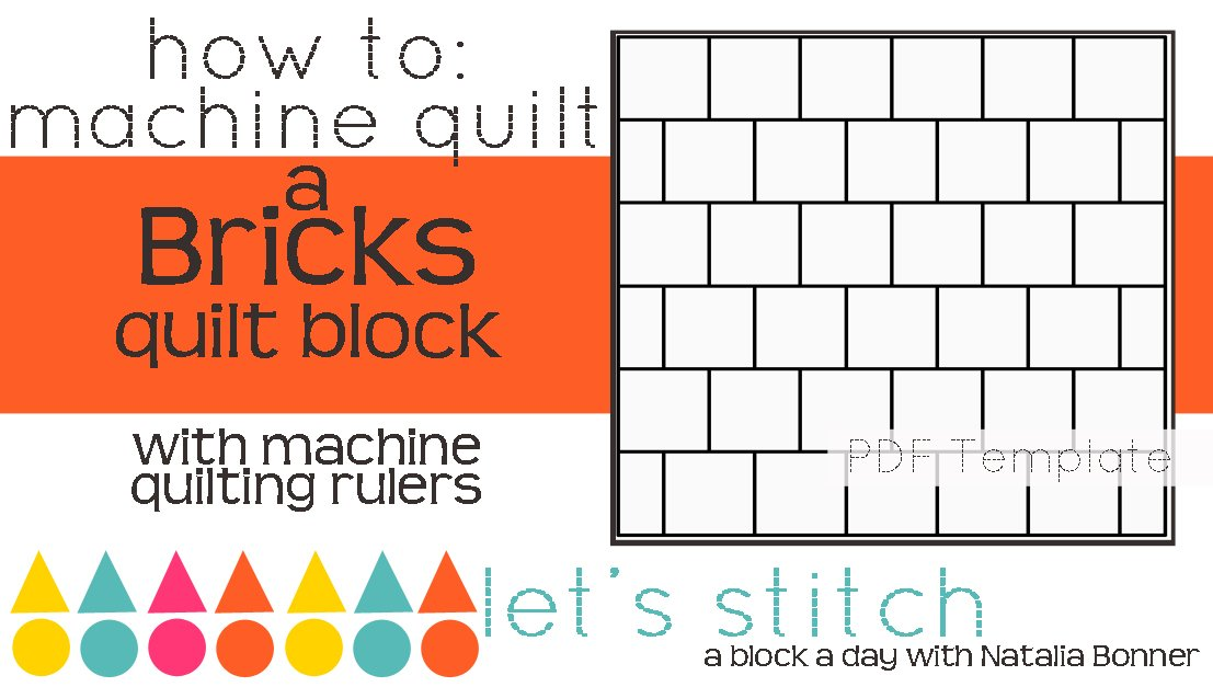 Let's Stitch - A Block a Day With Natalia Bonner - PDF - Bricks