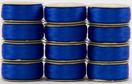Super Bobs - The Bottom Line Bobbins - L Style - Bright Blue - 12ct