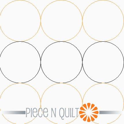 Bubble Wrap Pantograph Pattern - Paper