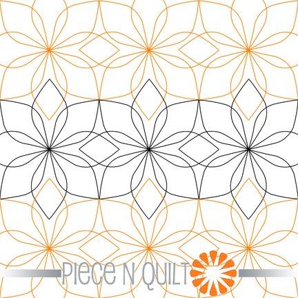 Bud Pantograph Pattern - Paper