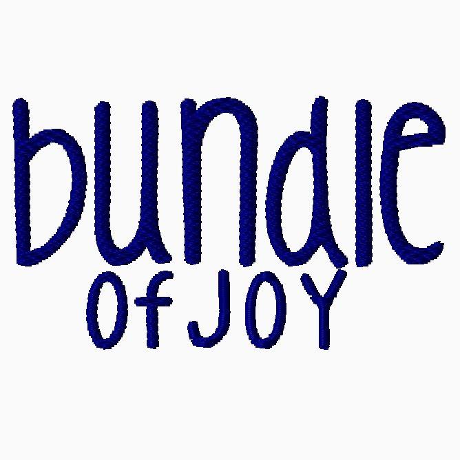 Bundle of Joy Embroidery