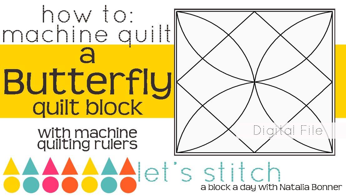 Butterfly 6 Block - Digital