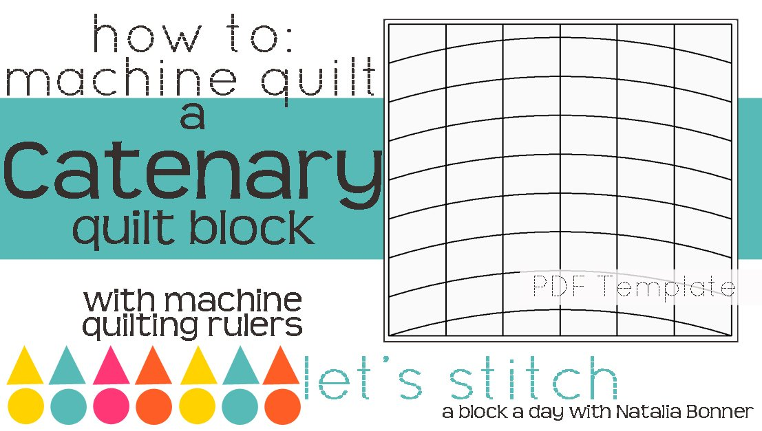 Let's Stitch - A Block a Day With Natalia Bonner - PDF - Catenary