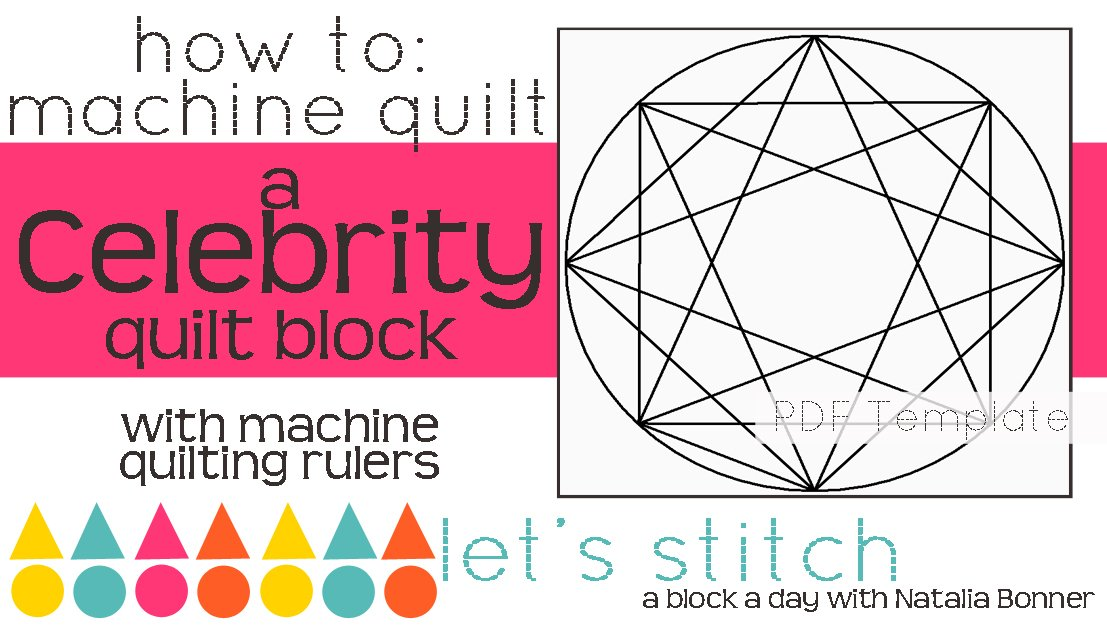 Let's Stitch - A Block a Day With Natalia Bonner - PDF - Celebrity