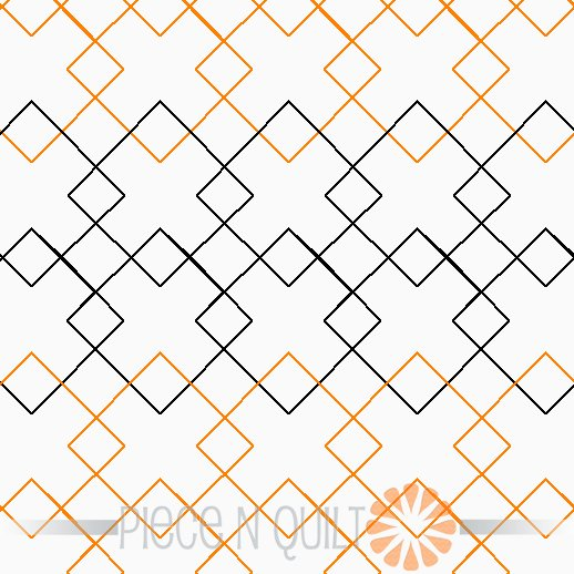 Checker Pantograph Pattern - Digital