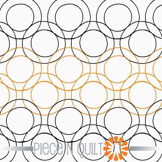 Cheerios Pantograph Pattern - Digital