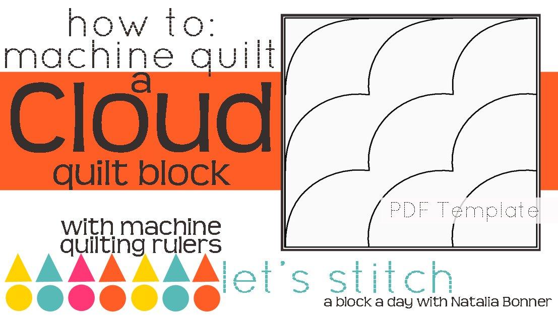 Let's Stitch - A Block a Day With Natalia Bonner - PDF - Cloud