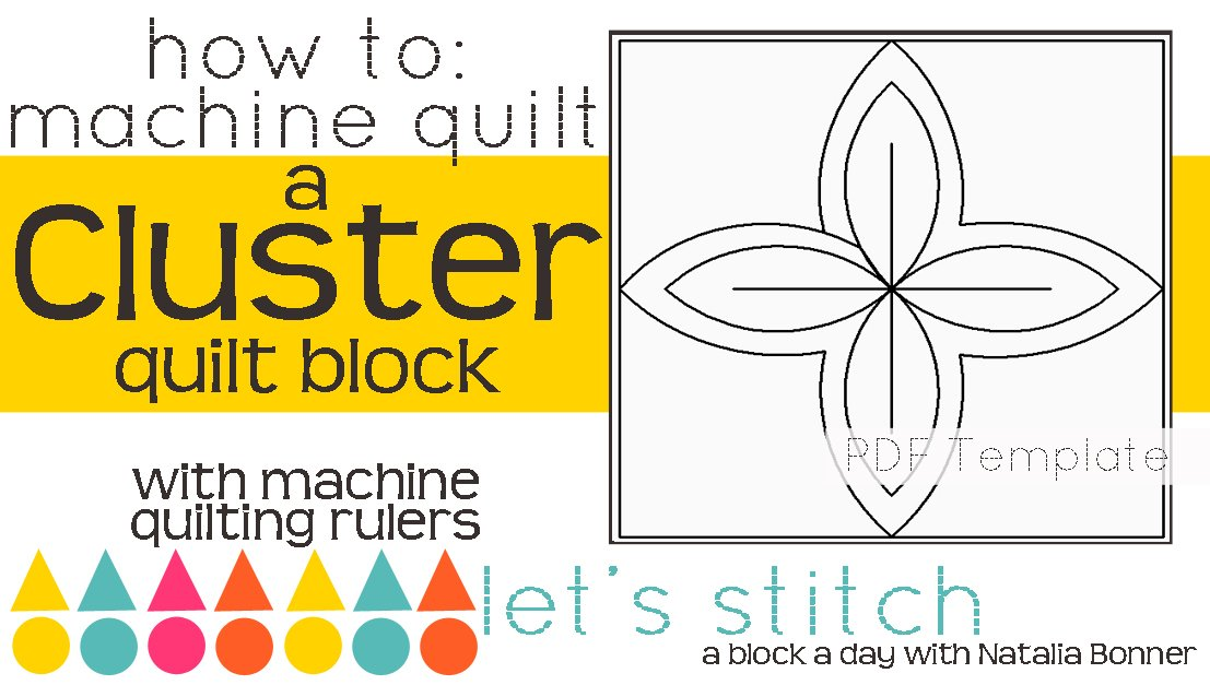 Let's Stitch - A Block a Day With Natalia Bonner - PDF - Cluster