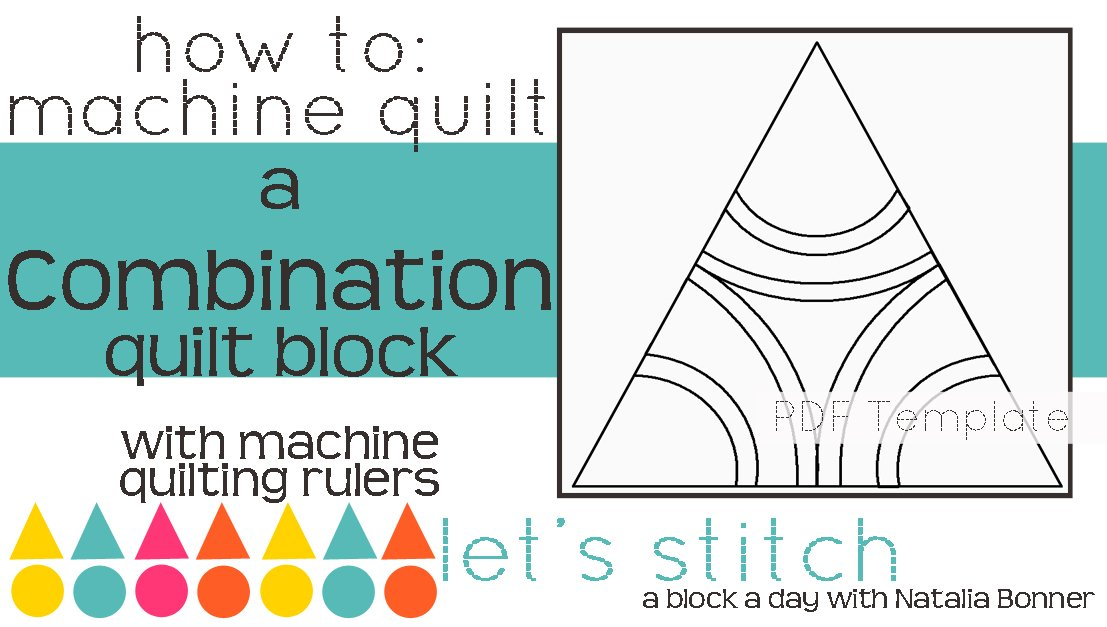 Let's Stitch - A Block a Day With Natalia Bonner - PDF - Combination
