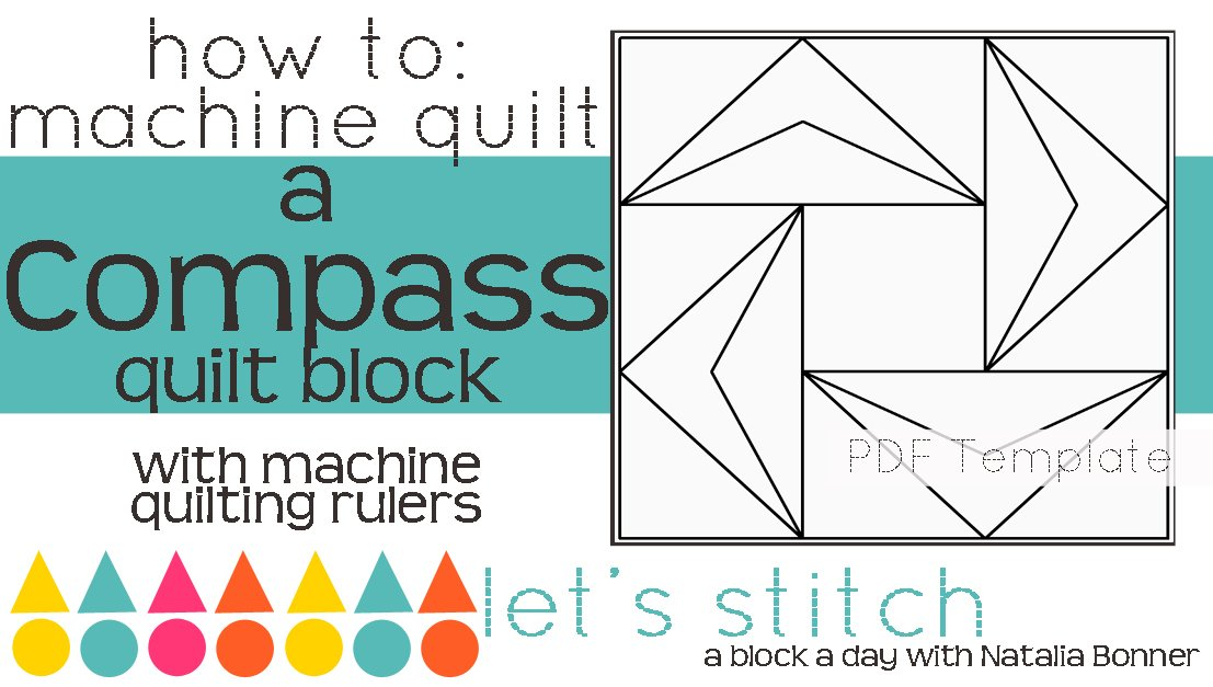 Let's Stitch - A Block a Day With Natalia Bonner - PDF - Compass