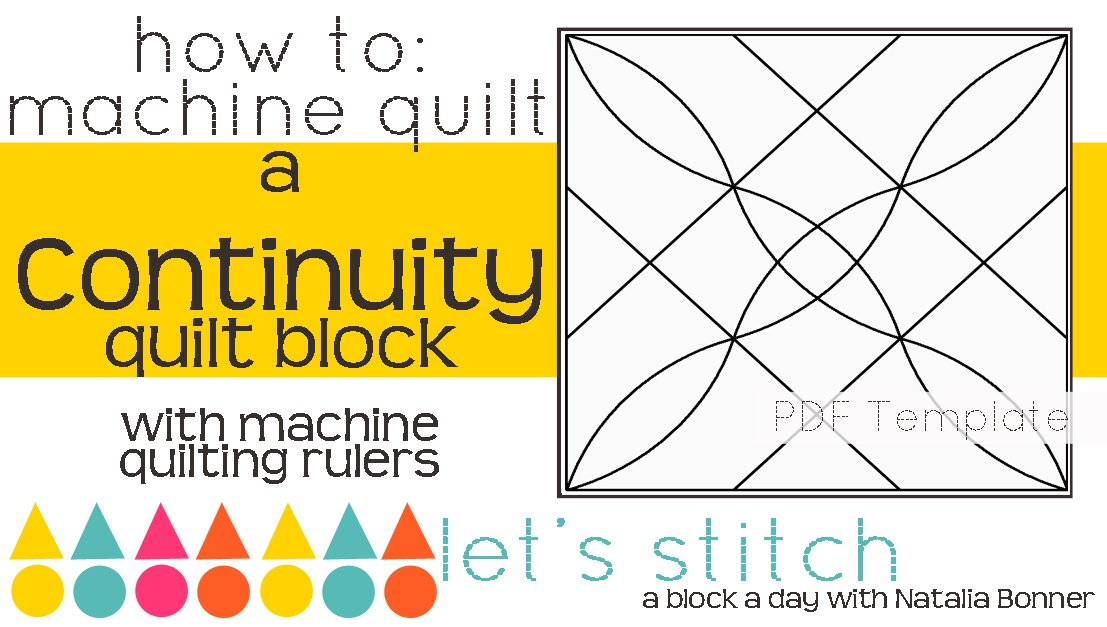 Let's Stitch - A Block a Day With Natalia Bonner - PDF - Continuity