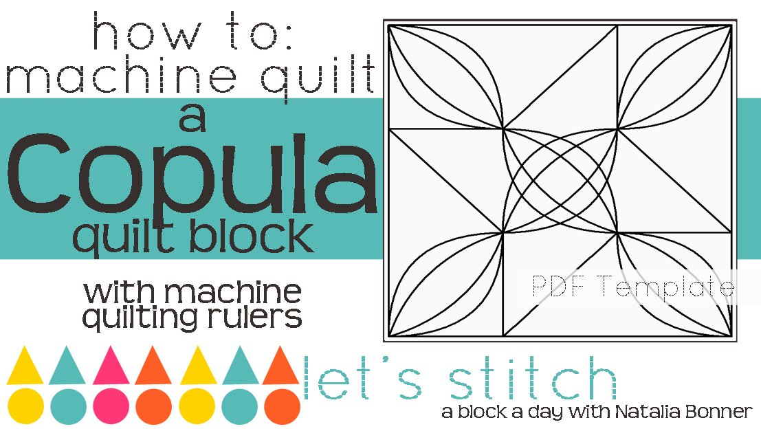 Let's Stitch - A Block a Day With Natalia Bonner - PDF - Copula