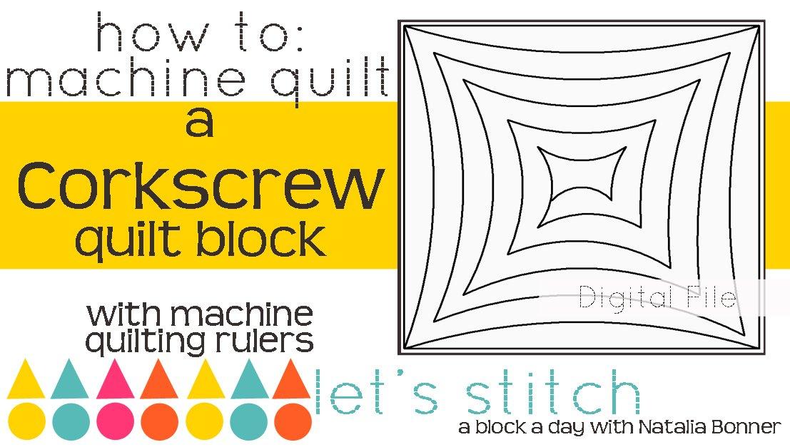 Corkscrew 6 Block - Digital