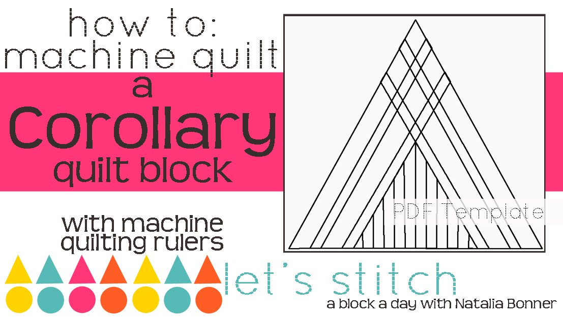 Let's Stitch - A Block a Day With Natalia Bonner - PDF - Corollary