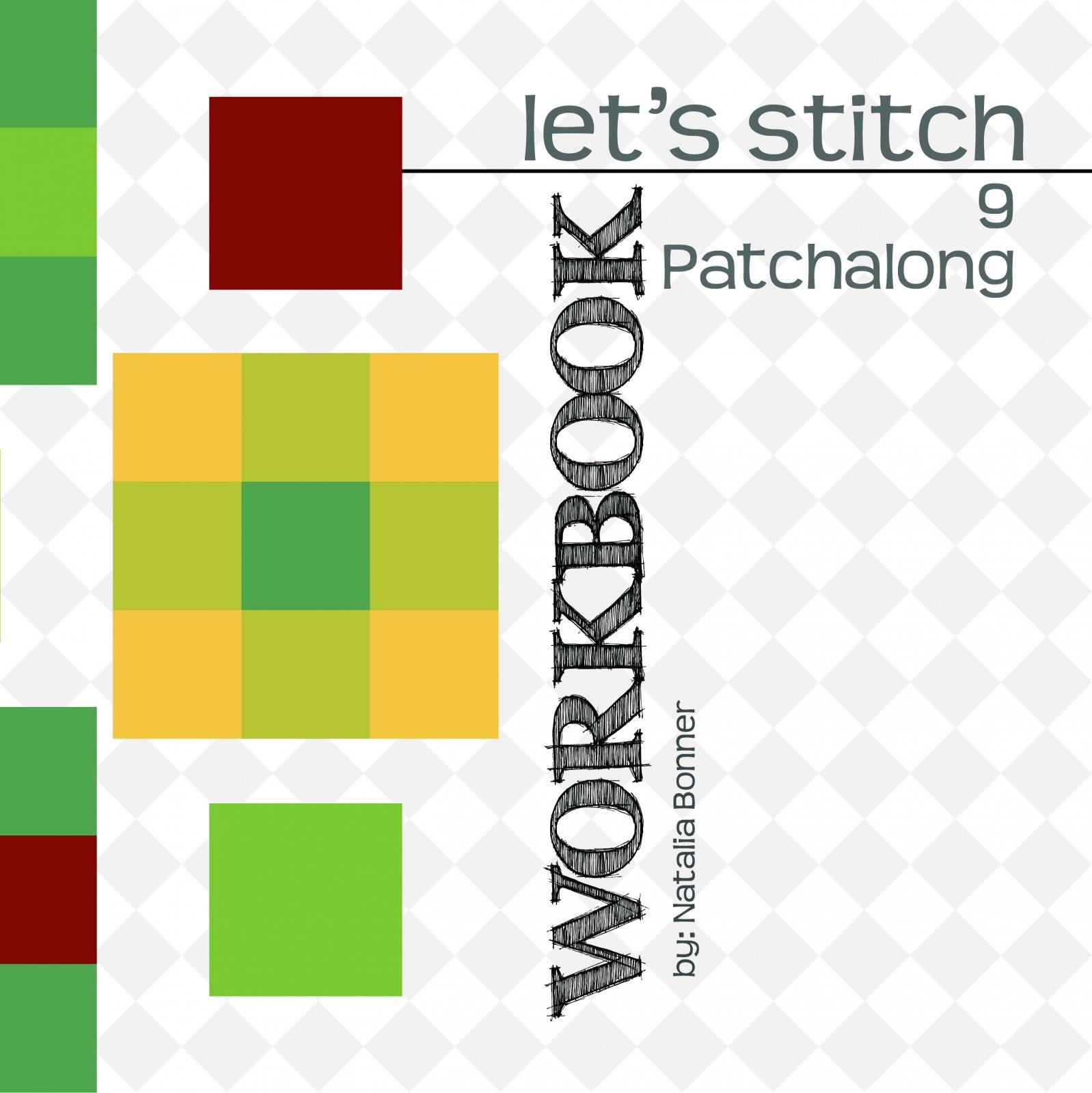 9 Patchalong Block Design Workbook