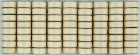 Super Bobs - The Bottom Line Bobbins -L Style - Cream