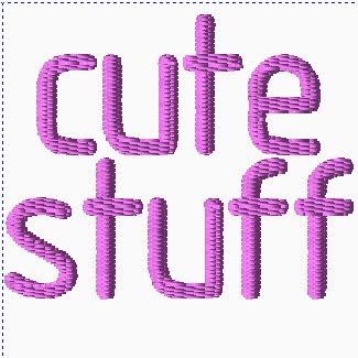 Cute Stuff Embroidery