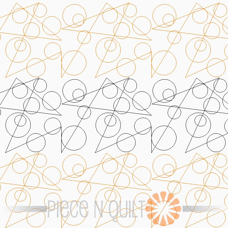Dots & Dashes Pantograph Pattern - Digital
