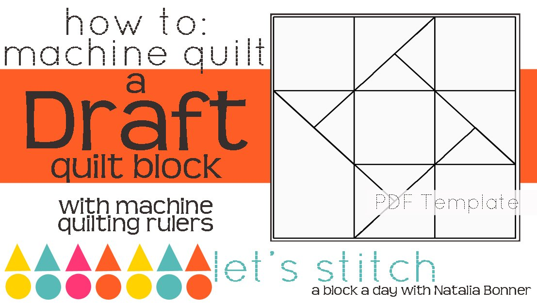 Let's Stitch - A Block a Day With Natalia Bonner - PDF - Draft