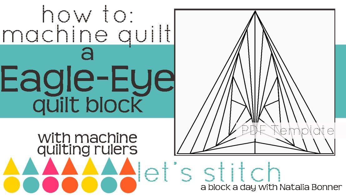Let's Stitch - A Block a Day With Natalia Bonner - PDF - Eagle-Eye