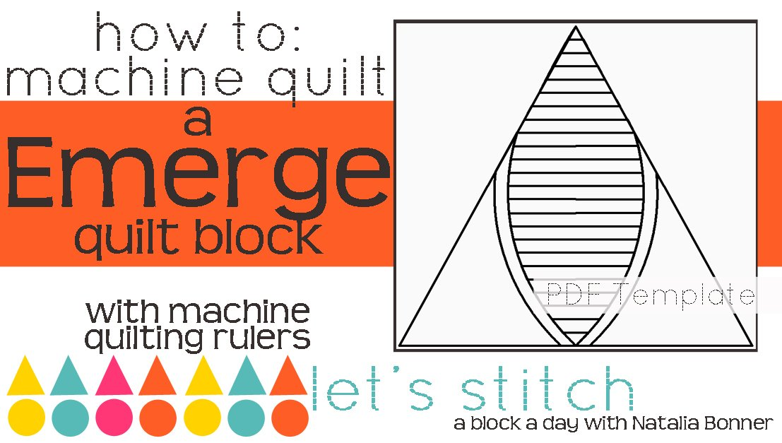 Let's Stitch - A Block a Day With Natalia Bonner - PDF - Emerge