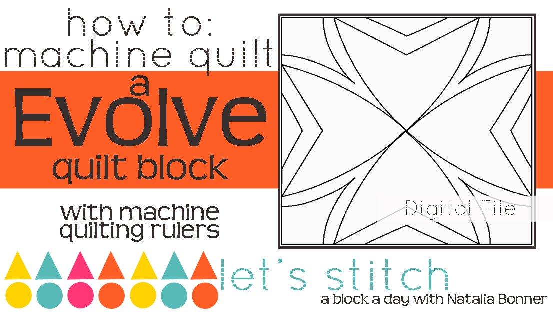 Let's Stitch - A Block a Day With Natalia Bonner - PDF - Evolve
