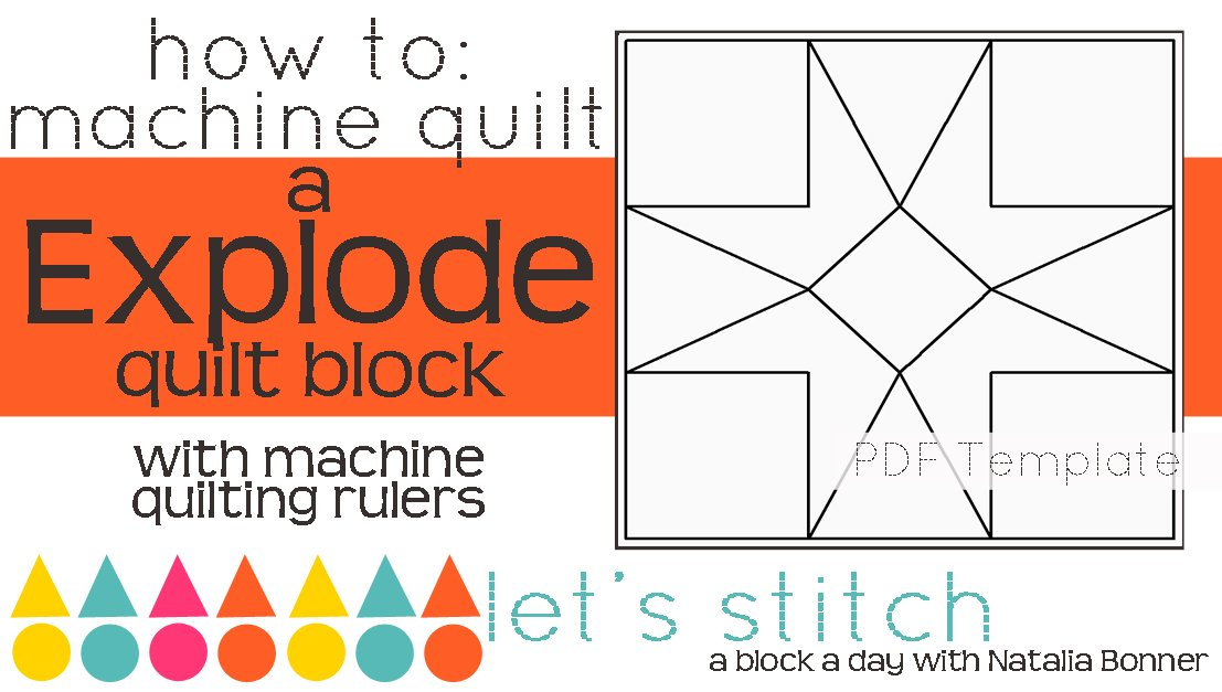 Let's Stitch - A Block a Day With Natalia Bonner - PDF - Explode