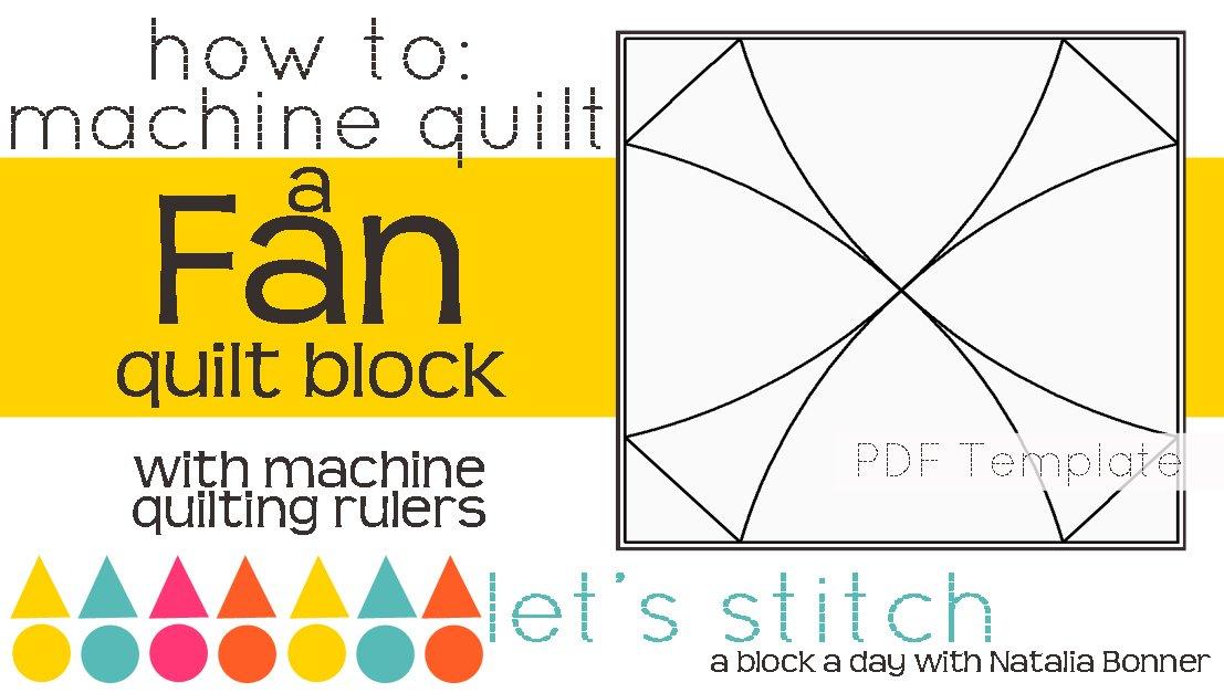 Let's Stitch - A Block a Day With Natalia Bonner - PDF - Fan